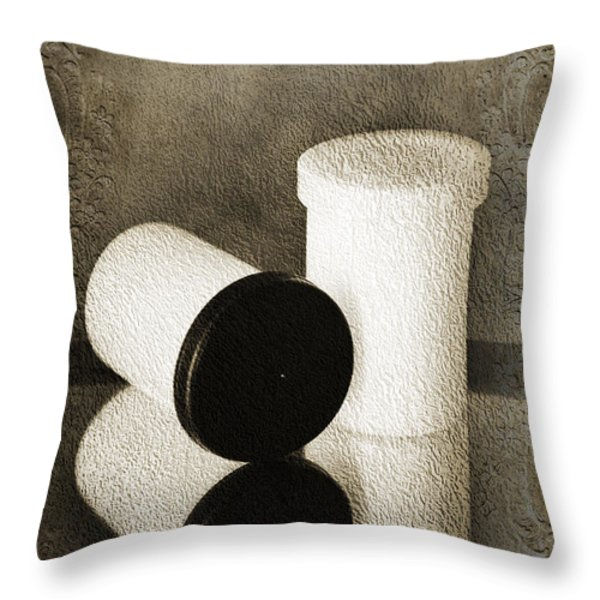 Film Capsule Throw Pillow by Andee Design