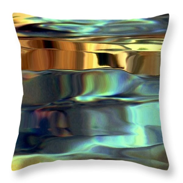 Final 1st Panel Throw Pillow by Dale   Ford