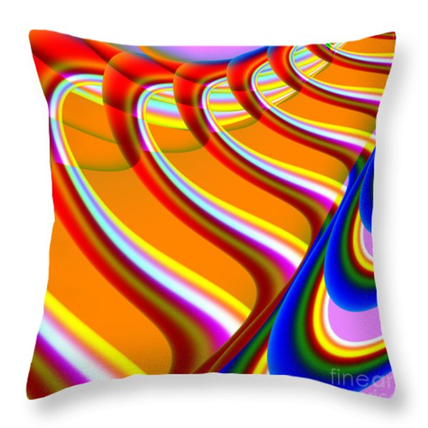 Finding Love . S15 Throw Pillow by Wingsdomain Art and Photography