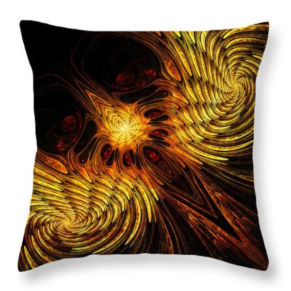 Firebird Throw Pillow by John Edwards
