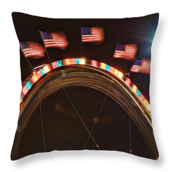 Five Flags Throw Pillow by James BO  Insogna
