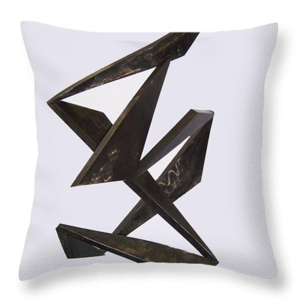 Flamenco Throw Pillow by John Neumann