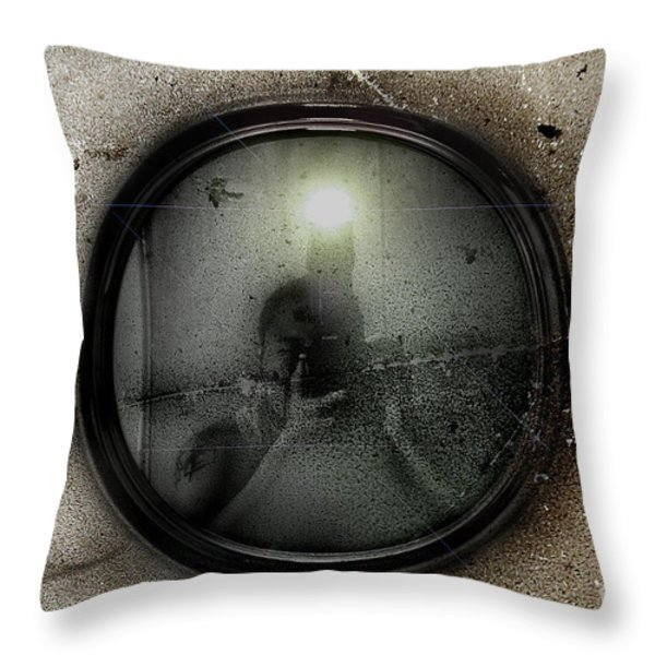 Flash Present Future Throw Pillow by Yhun Suarez