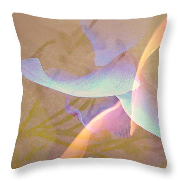 Flight Throw Pillow by Shirley Sirois