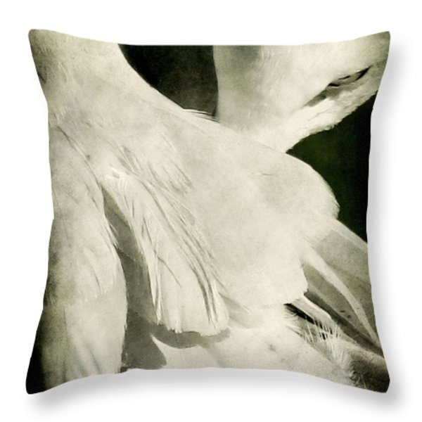Flock Throw Pillow by Andrew Paranavitana