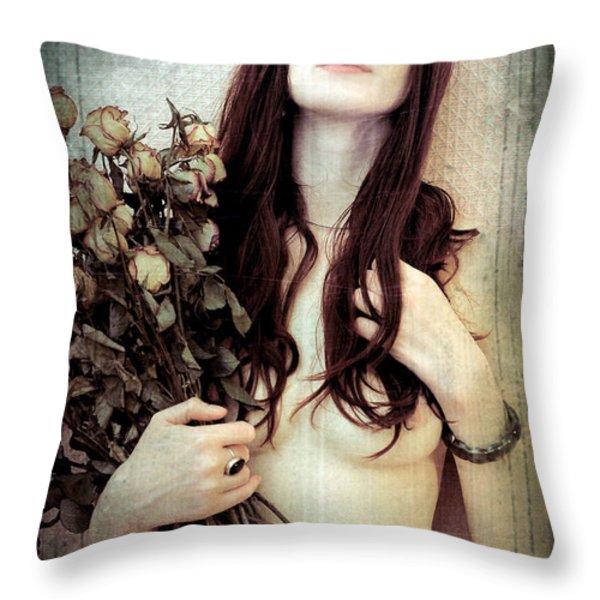 Florence III Throw Pillow by Pawel Piatek