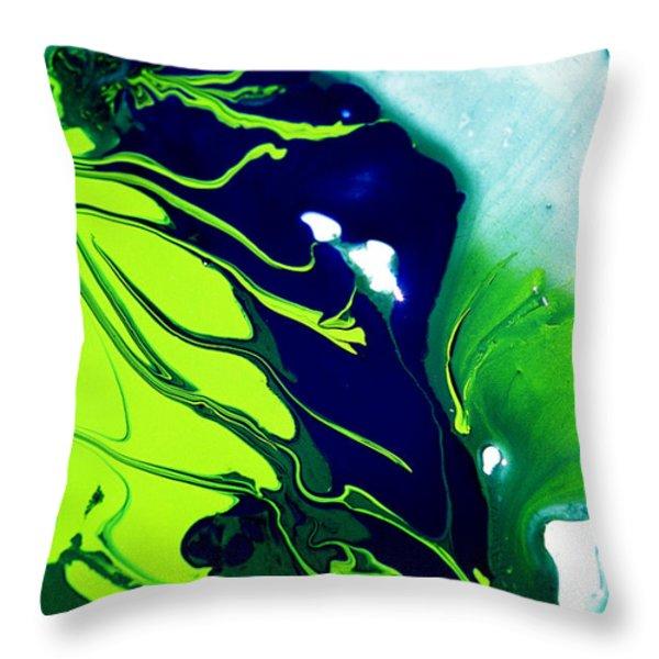 Fluidism Aspect 185 Photography Throw Pillow by Robert G Kernodle