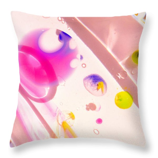 Fluidism Aspect 561 Photography Throw Pillow by Robert Kernodle