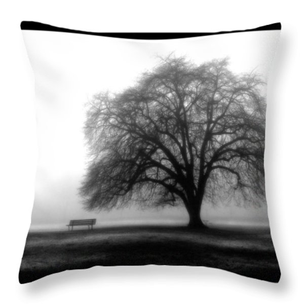 Foggy Day H-4 Throw Pillow by Mauro Celotti