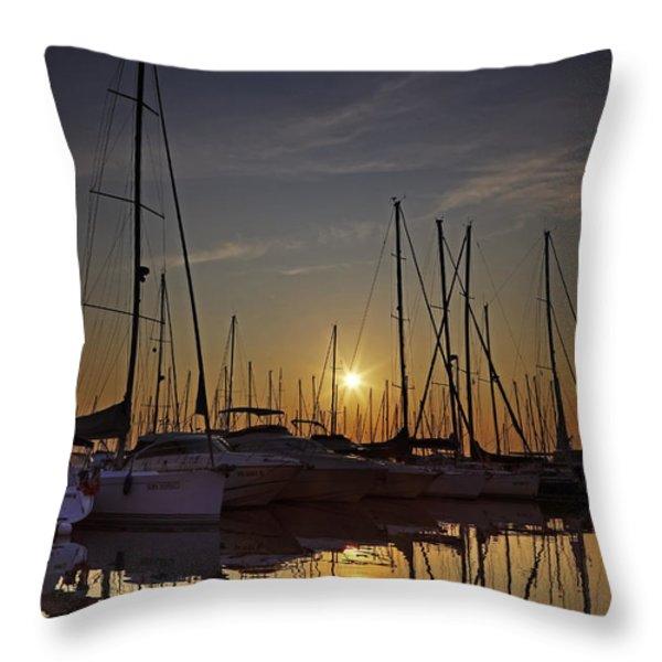 Follonica Throw Pillow by Joana Kruse