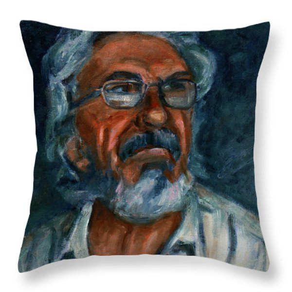 For Petko Pemaro Throw Pillow by Xueling Zou
