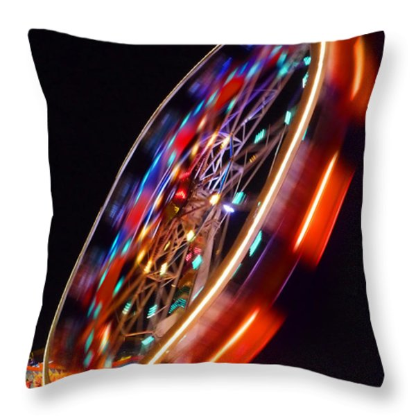 Force Throw Pillow by Charles Stuart