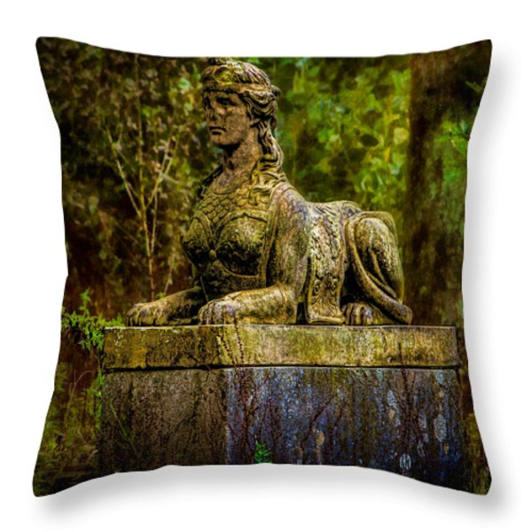 Forest Mysteries Throw Pillow by Chris Lord