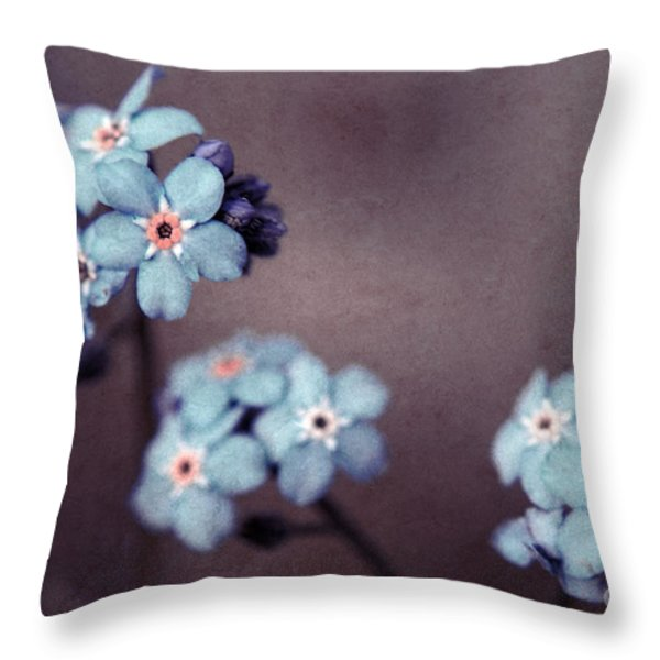 Forget Me Not 01 - s05dt01 Throw Pillow by Variance Collections