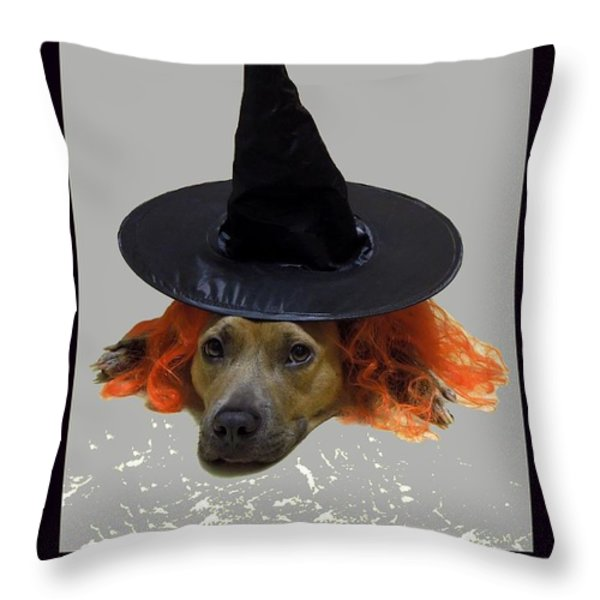 Forgetful Throw Pillow by Renee Trenholm