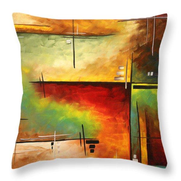 Forgotten Promise by MADART Throw Pillow by Megan Duncanson