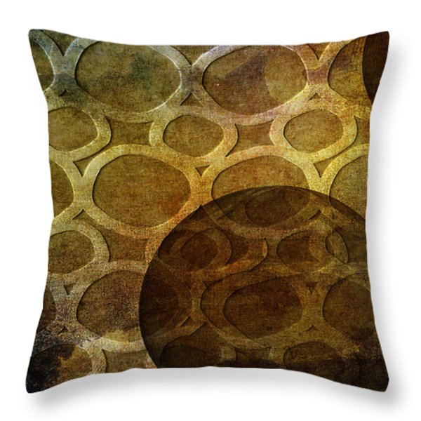 Formed Throw Pillow by Angelina Vick