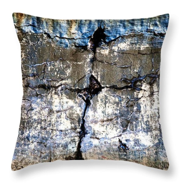 Foundation Two Throw Pillow by Bob Orsillo