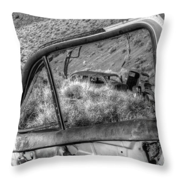 Framed Throw Pillow by Bob Christopher