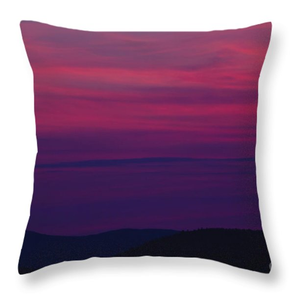Franconia Notch State Park - White Mountain New Hampshire  Throw Pillow by Erin Paul Donovan