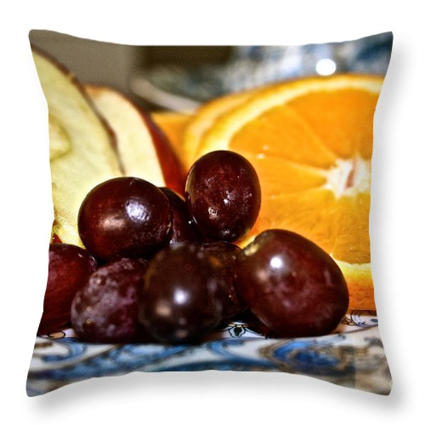 Fresh Start Throw Pillow by Susan Herber