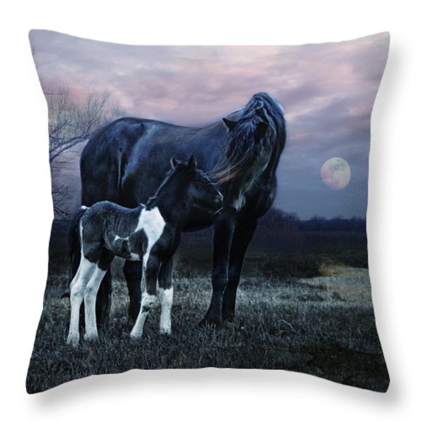 Frisian Throw Pillow by Joachim G Pinkawa