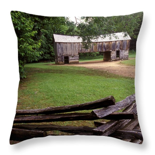 From Days Gone By Throw Pillow by Paul W Faust -  Impressions of Light