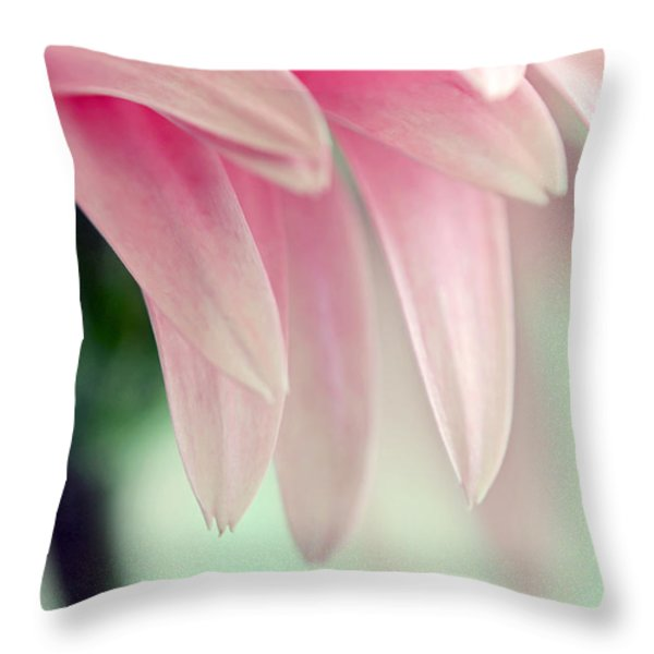 From The Heart Throw Pillow by Melanie Moraga