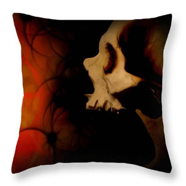 Frustration Throw Pillow by Vic Weiford