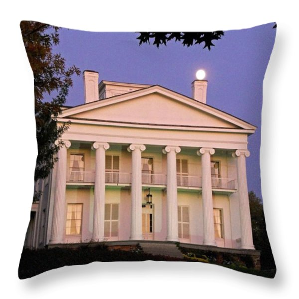Full Moon ...  Throw Pillow by Juergen Weiss