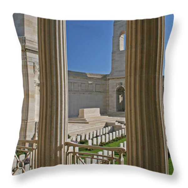 Futility Throw Pillow by Nomad Art And  Design