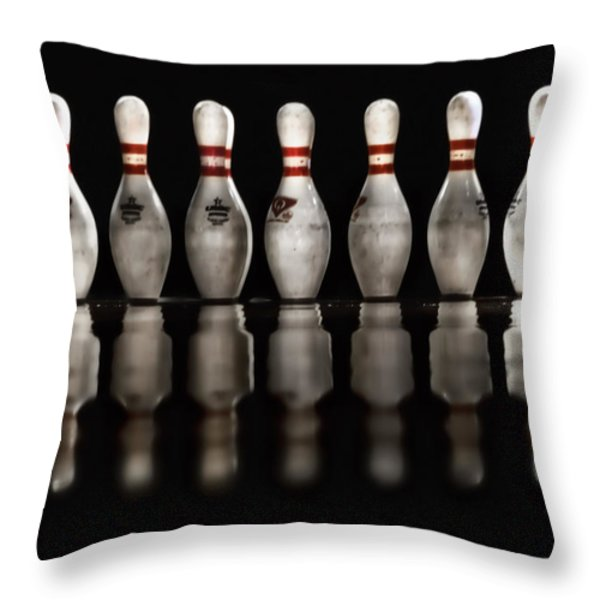 Game On Throw Pillow by Evelina Kremsdorf