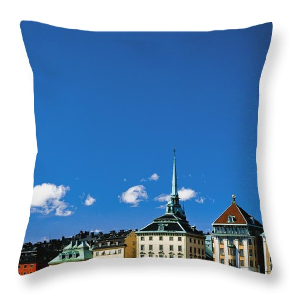 Gamia Stan Main Square Throw Pillow by Axiom Photographic