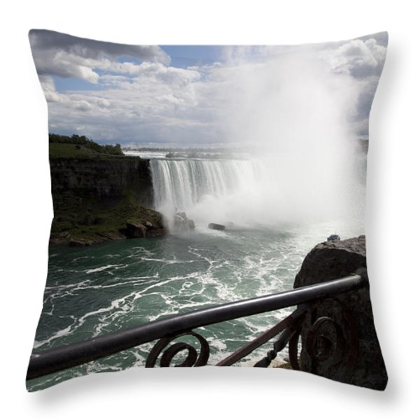 Gateway To Beauty Throw Pillow by Amanda Barcon