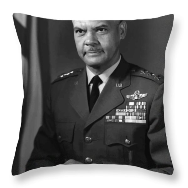 General Benjamin Davis Throw Pillow by War Is Hell Store