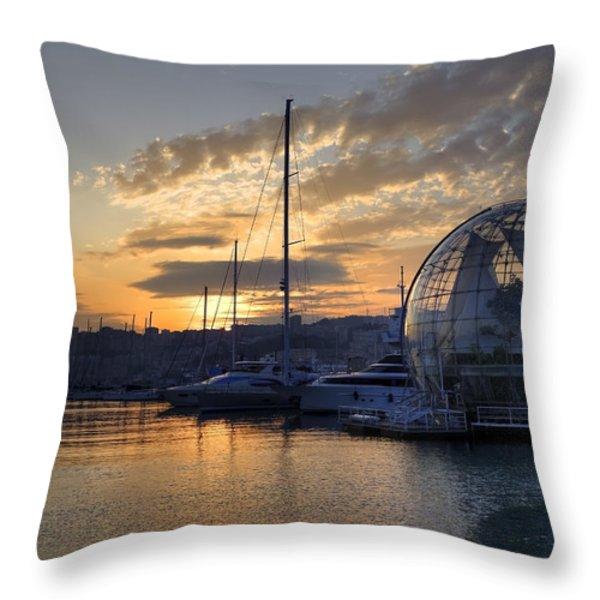 Genoa Throw Pillow by Joana Kruse