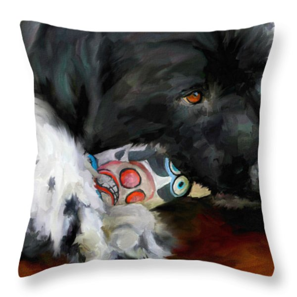 Gentle Soul Throw Pillow by Jai Johnson
