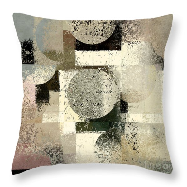 Geomix - c133et02b Throw Pillow by Variance Collections