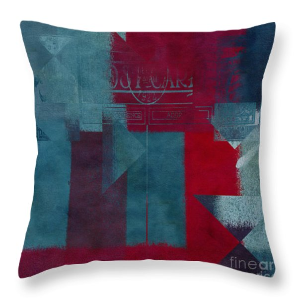 Geomix 03 - s330d05t2b2 Throw Pillow by Aimelle
