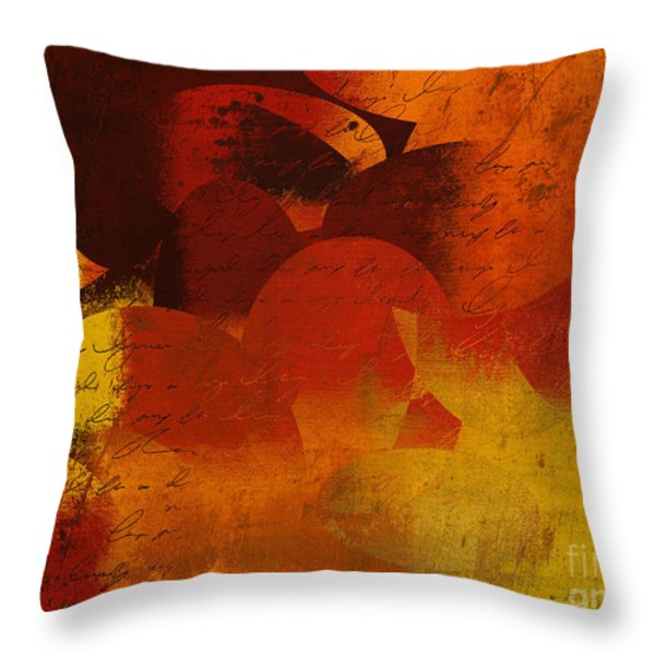 Geomix 05 - 02at02b Throw Pillow by Variance Collections