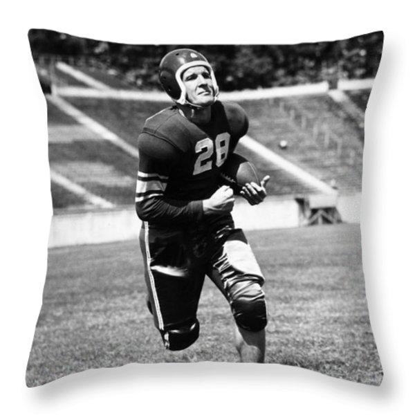 George Clark (d. 1972) Throw Pillow by Granger