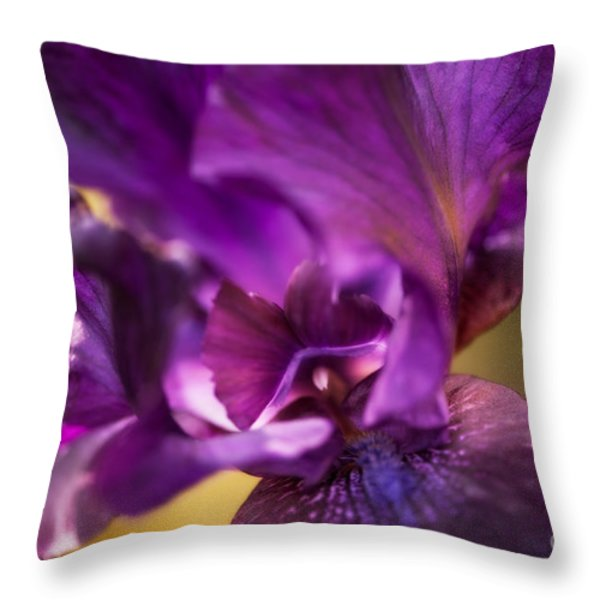 Getting Personal Throw Pillow by Venetta Archer