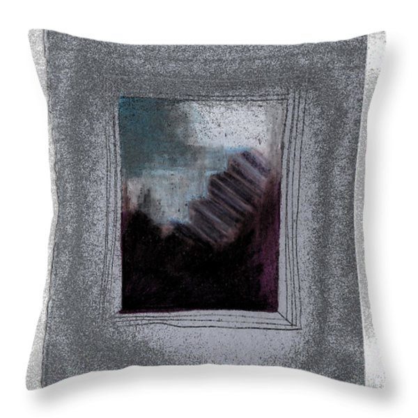 Ghost Stories The Argument Throw Pillow by First Star Art