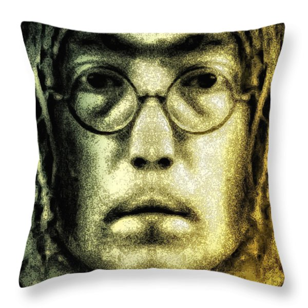 Give Peace A Chance Throw Pillow by Bill Cannon
