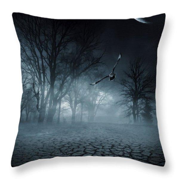 Glaucus Throw Pillow by Lourry Legarde