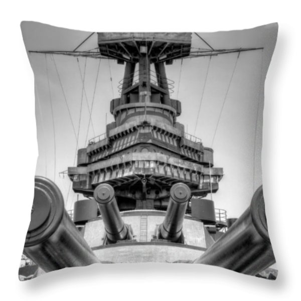 Go Ahead Punk   Make my Day Throw Pillow by JC Findley