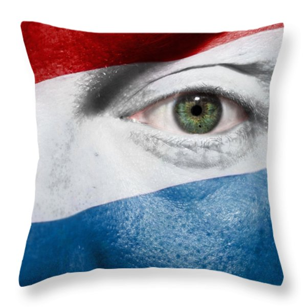 Go Luxembourg Throw Pillow by Semmick Photo