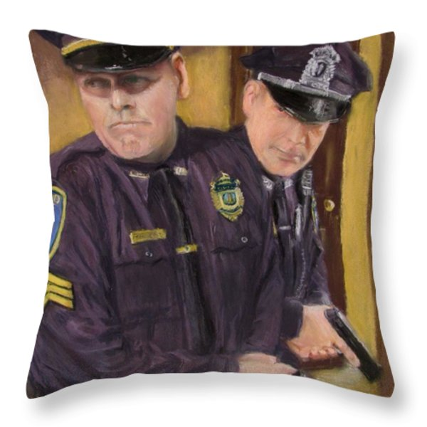 Go on Three...1....2.... Throw Pillow by Jack Skinner