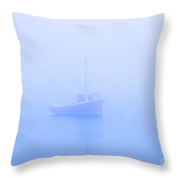 Gog Boat Throw Pillow by John Greim