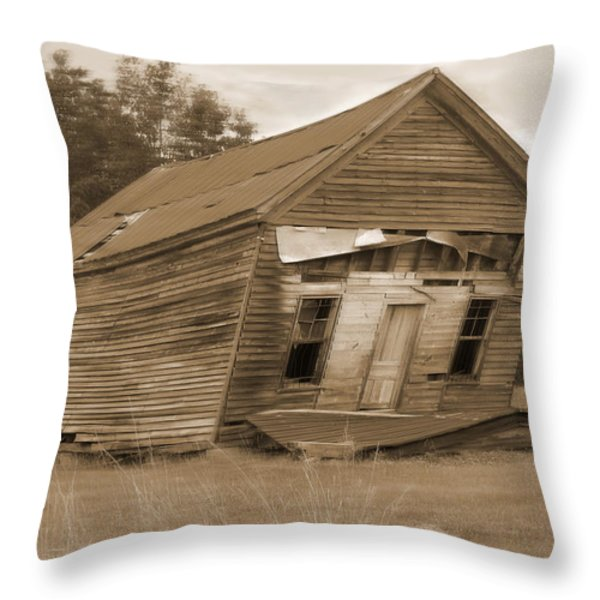 Going Down Throw Pillow by Mike McGlothlen